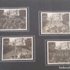 Fotografía antigua: ÁLBUM FOTOGRÁFICO -VISITA OFICIAL DE S.E. EL JEFE DEL ESTADO A LA CIUDAD DE GERONA, GIRONA - 1942. Lote 90741465