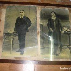 Fotografía antigua: GRANDES FOTOGRAFIAS ANTIGUAS PERSONAJES DE ALICANTE . Lote 91546090
