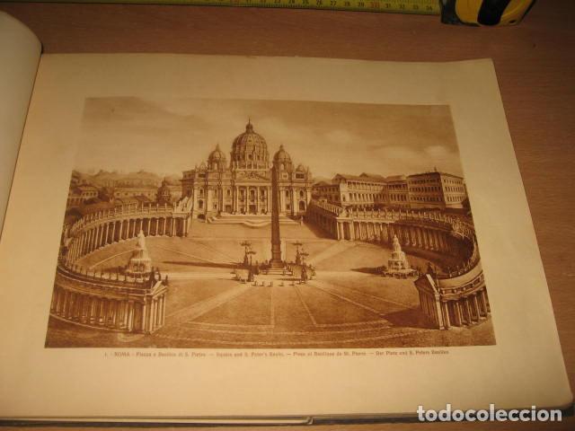 Fotografía antigua: ALBUM CARTON FOTOS RICORDO DI ROMA CENTO TAVOLE EDITORES ATTILIO AÑOS 20 - Foto 4 - 92806285