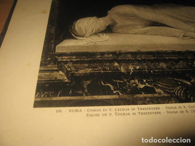 Fotografía antigua: ALBUM CARTON FOTOS RICORDO DI ROMA CENTO TAVOLE EDITORES ATTILIO AÑOS 20 - Foto 7 - 92806285