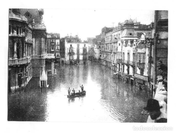 FOTOGRAFIA ANTIGUA-CARTAGENA: LA GRAN RIADA- AÑO 1919- FOTO CASAU- (Fotografía - Artística)
