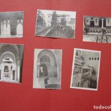 Fotografía antigua: 6 FOTOGRAFÍAS ANTIGUAS: ALHAMBRA DE GRANADA (1950'S) ¡ORIGINALES! COLECCIONISTA. Lote 94033540
