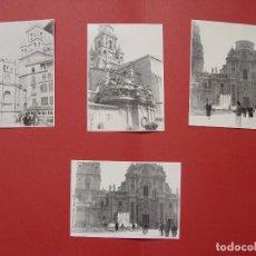Fotografía antigua: 4 FOTOGRAFÍAS ANTIGUAS: CATEDRAL MURCIA (1950'S) ¡ORIGINALES! COLECCIONISTA. Lote 94066685