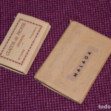 Fotografía antigua: LOTE 2 LIBRITOS - FOTOS RECUERDO DE MALAGA Y LAS CUEVAS DE NERJA - PRECIOSOS - VINTAGE - HAZ OFERTA. Lote 94071935