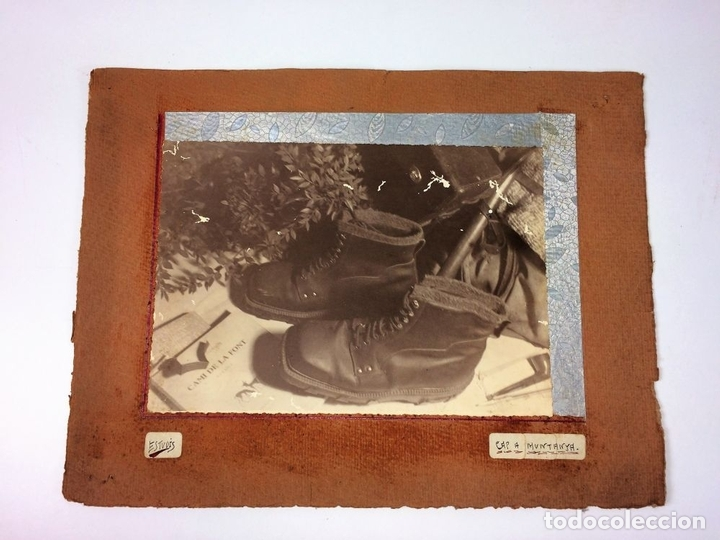 Fotografía antigua: CAP A MUNTANYA. FOTOGRAFÍA. ANÓNIMO. CATALUNYA. CIRCA 1920 - Foto 2 - 94386094