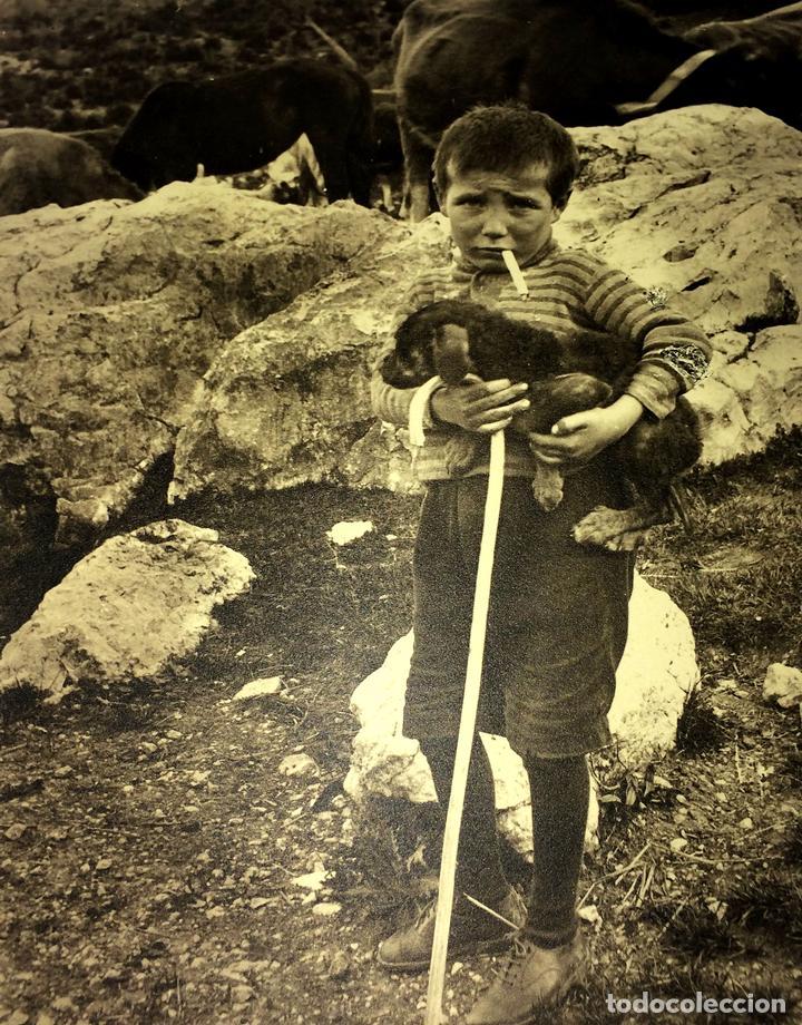 ESCENAS CAMPESINAS. LOTE DE 10 FOTOGRAFÍAS. AUTOR ANÓNIMO. ESPAÑA. ENTRE 1920-35 (Fotografía - Artística)