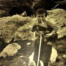 Fotografía antigua: ESCENAS CAMPESINAS. LOTE DE 10 FOTOGRAFÍAS. AUTOR ANÓNIMO. ESPAÑA. ENTRE 1920-35. Lote 94391010