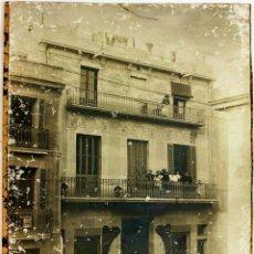 Fotografía antigua: CARPINTERIA MECANICA J. COMPTE. BADALONA. FOTOGRAFÍA. BADALONA. ESPAÑA. SIGLO XIX-XX. Lote 94583211