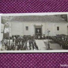 Fotografía antigua: ANTIGUA FOTOGRAFÍA CREO MÁLAGA - ANTIGUA IGLESIA - ACTO FALANGISTA VINTAGE - HAZ OFERTA. Lote 94688927