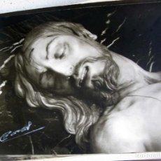 Fotografía antigua: FOTO SANTO ENTIERRO UBEDA 24 X 18 CM. Lote 94812239