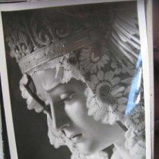 Fotografía antigua: FOTO CARIDAD UBEDA 24 X 18 CM. Lote 94812815