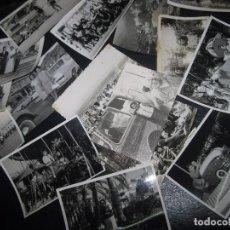 Fotografía antigua: LOTE ANTIGUAS FOTOS ALICANTE ATRACCION FERIA Y OTRAS. Lote 94926507
