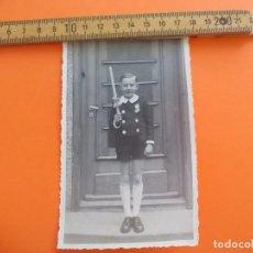 Fotografía antigua: ANTIGUA FOTOGRAFÍA ALEMANIA AÑOS 40-50 NIÑO COMUNIÓN ? FOTO.GERMANY PHOTO ANTIQUE. Lote 95391015