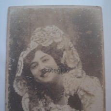 Fotografía antigua: RETRATO FEMENINO. TOTANA, MURCIA. FOTÓGRAFO DESCONOCIDO.. Lote 95711919