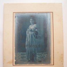 Fotografía antigua: RETRATO FEMENINO. TOTANA, MURCIA. FOTÓGRAFO DESCONOCIDO.. Lote 95712179