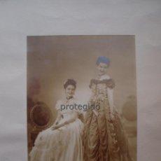 Fotografía antigua: RETRATO DE DOS DAMAS. MURCIA. FOTÓGRAFO ORGA. MURCIA. 13 JUN 1944.. Lote 95712663
