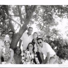 Fotografía antigua: ** AN499 - FOTOGRAFIA - GRUPO DE AMIGOS EN EL CAMPO. Lote 95834263