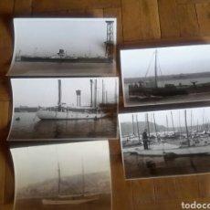Fotografía antigua: F.ANTIGUAS DE BARCOS DE BARCELONA . Lote 95924979