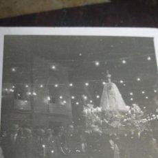 Fotografía antigua: FOTO ANTIGUA VIRGEN PASO DE PROCESION VALENCIA. Lote 96105703