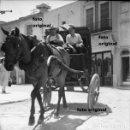 Fotografía antigua: NEGATIVO CALLE SAN FRANCISCO VINAROZ VINAROS(CASTELLON) POST GUERRA CIVIL 1950. Lote 96188251