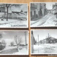 Fotografía antigua: UTIEL - VALENCIA - LOTE 12 FOTOS. Lote 96239003