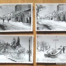 Fotografía antigua: UTIEL - VALENCIA - LOTE 16 FOTOS. Lote 96239175