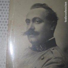 Fotografía antigua: FOTO ORIGINAL ANTIGUA POLITICO MILITAR MUSICO IBAÑEZ PISANA ? HIJO ADOPTIVO YECLA MUSICA. Lote 44915757