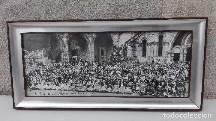 FOTO PANORAMICA PEREGRINACION A LOURDES GERONA 1978 (Fotografía - Artística)
