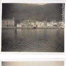 Fotografía antigua: F- 3275. PAREJA FOTOGRAFIAS ORIGINALES PASAJES. AÑO 1929.. Lote 97123483