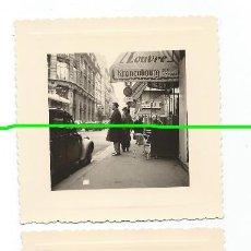 Fotografía antigua: TRES FOTOS. PARIS. FOTÓGRAFO DESCONOCIDO. MURCIA. BO. Lote 98001711