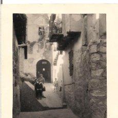 Fotografía antigua: FOTOGRAFIA ALBARRACIN TERUEL - C-22. Lote 98646779