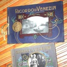 Fotografía antigua: RECUERDO DE VENECIA, 28 VISTAS - RECUERDO DE VENECIA, 30 CUADROS REAL ACADEMIA DE VENECIA. Lote 99559795