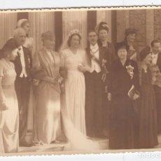 Fotografía antigua: FOTOGRAFIA REALEZA ESPAÑOLA DOÑA ESPERANZA DE BORBON Y PEDRO GASTON DE ORLEANS. Lote 99667359