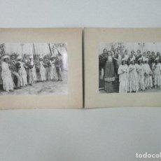 Fotografía antigua: 2 FOTOGRAFÍAS ANTIGUAS - ZARZUELA LUISA FERNANDA - VILADRAU - 8 SETIEMBRE DE 1933. Lote 99710087