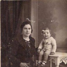 Old photograph - FOTOGRAFIA - MATERNIDAD - C-9 - 99971131