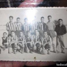 Fotografía antigua: ANTIGUA PLANTILLA FOTO TAMAÑO POSTAL POSIBLRE EQUIPO DE ALICANTE ?. Lote 101091159