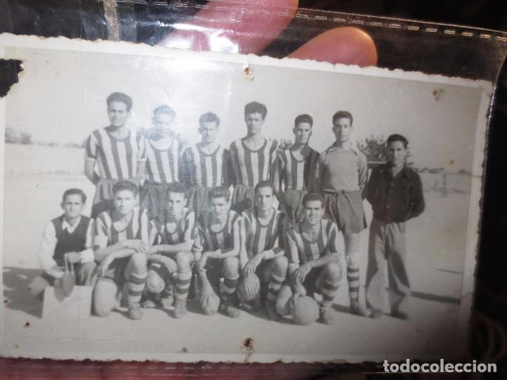 Fotografía antigua: ANTIGUA PLANTILLA FOTO TAMAÑO POSTAL POSIBLRE EQUIPO DE ALICANTE ? - Foto 2 - 101091159