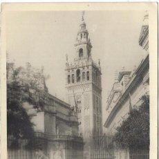 Fotografia antiga: == FF151 - FOTOGRAFIA - AMIGOS EN COCHE DE CABALLOS POR SEVILLA - 18 X 12 CM.. Lote 101478035