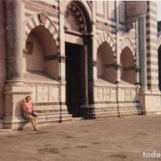 Fotografía antigua: == A1430 - FOTOGRAFIA - SEÑORA EN UN BONITO PAISAJE. Lote 101539715