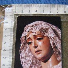 Fotografía antigua: SEMANA SANTA SEVILLA - FOTOGRAFIA MARIA SANTISIMA DE MONTSERRAT CON MANTILLA - FOTO FERNAND. Lote 102456815
