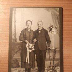 Fotografía antigua: FOTOGRAFÍA ORIGINAL ANTIGUA DE ATELIER GOSSAUER. Lote 103357323