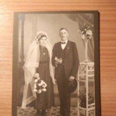 Fotografía antigua: FOTOGRAFÍA ORIGINAL ANTIGUA DE ATELIER GOSSAUER. Lote 103357651