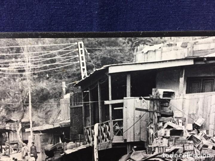 Fotografía antigua: fotografia blanco negro calle pakistan franja peshawar norte india años 50 70 40 x 27,5 cm - Foto 4 - 103389663