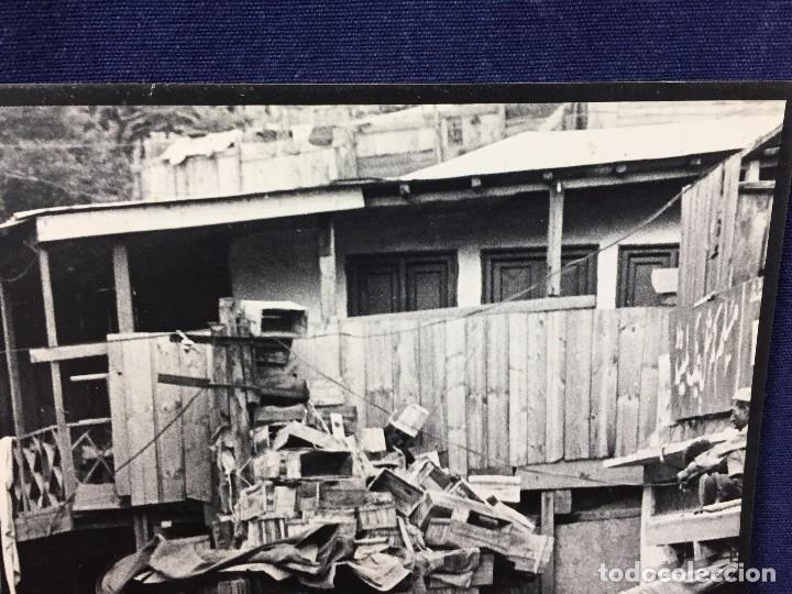 Fotografía antigua: fotografia blanco negro calle pakistan franja peshawar norte india años 50 70 40 x 27,5 cm - Foto 5 - 103389663
