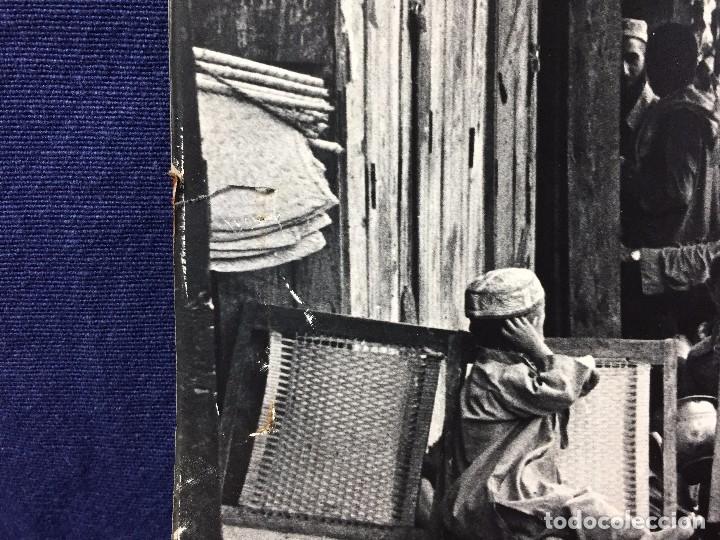 Fotografía antigua: fotografia blanco negro calle pakistan franja peshawar norte india años 50 70 40 x 27,5 cm - Foto 14 - 103389663