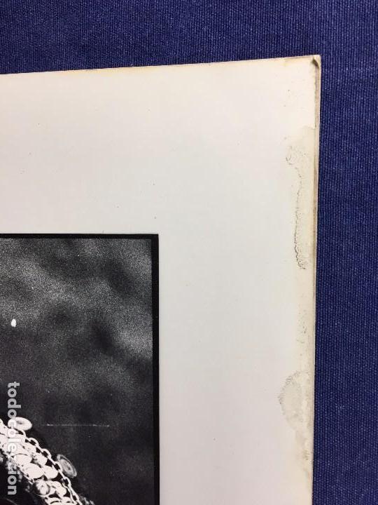 Fotografía antigua: fotografia blanco negro mujer anciana sabiduria etnia grupo indios america años 60 70 40 x 30 cm - Foto 3 - 103390923