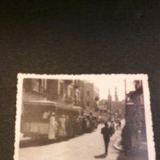 Fotografía antigua: TRANVIA EN EL CAIRO AÑOS 50-EGIPTO. Lote 103986432