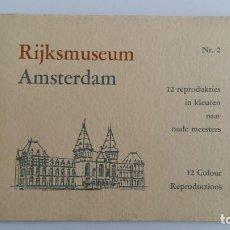Fotografía antigua: RIJKSMUSEUM AMSTERDAM. 12 REPRODUCCIONES A COLOR. CUADERNO Nº 12. W. Lote 104006079