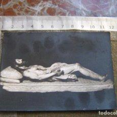 Fotografía antigua: SEMANA SANTA SEVILLA - FOTOGRAFIA DEL CRISTO DEL SANTO ENTIERRO - FOTO FERNAND. Lote 104189203