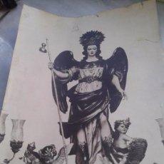 Fotografía antigua: ANTIGUA FOTOGRAFÍA DEL ARCANGEL SAN RAFAEL DE CÓRDOBA. TAMAÑO FOLIO. Lote 104206311
